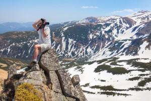 Fotografen für die Bloghütte